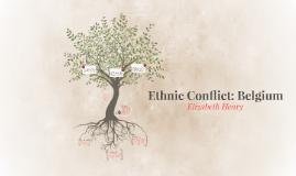 Ethnic Conflict: Belgium