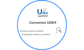 Convenios UDEA