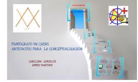 Copy of Pantografo Vs Cabri. Artefactos para la conceptualización