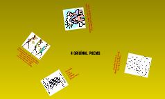 4 Original Poems