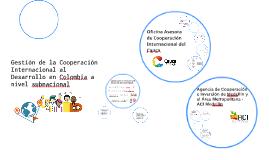 Copy of Gestión de la Cooperación Internacional al Desarrollo en Col