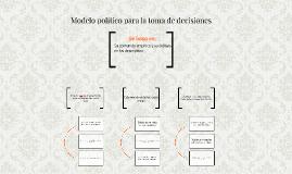 Modelo político para la toma de decisiones