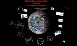 Copy of PLANEACION ESTRATÉGICA UNE
