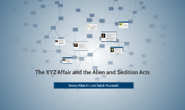 The XYZ Affair and the Alien and Sedition Acts