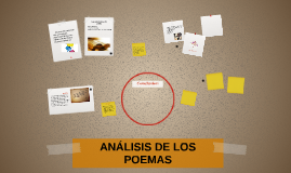 ANÁLISIS DE LOS  POEMAS