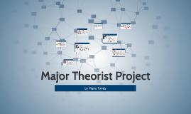 Major Theorist Project