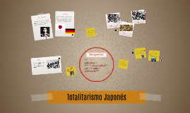 Totalitarismo Japonés
