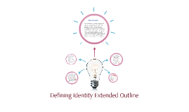 Defining Identity Extended Outline