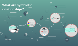 What are symbiotic relationships?