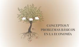 CONCEPTOS Y PROBLEMAS BÁSICOS EN LA ECONOMÍA