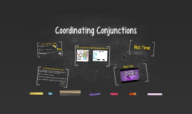 Coordinating Conjuctions