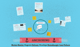 Copy of ANCHORING