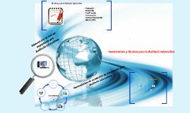 Copy of Herramientas y Técnicas para la Auditoria Informatica