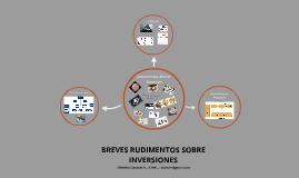 RUDIMENTOS DE INVERSIONES
