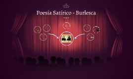 Poesia Satirico - Burlesca