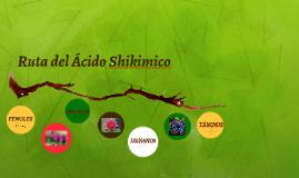 Ruta del Ácido Shikimico