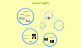 Animal testing yeah