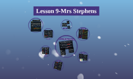 Lesson 9-Analysis of Performance- (ass 1)Mrs Stephens