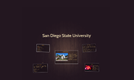 San Diego State Univerity