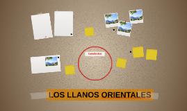 LOS LLANOS ORIENTALES
