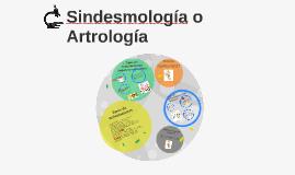 Sindesmología o Artrología