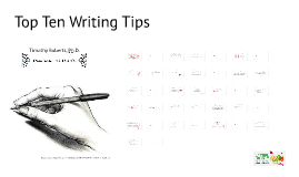 Top Ten Writing Tips by Timothy Roberts
