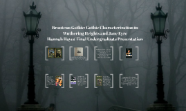 Brontean Gothic: Gothic Characterization in Wuthering Height