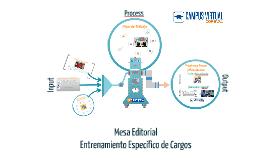 Mesa Editorial Entrenamiento e-Learning