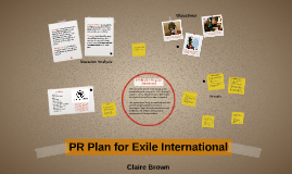 PR Plan for Exile International