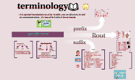 Copy of terminology