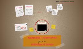 Planeación y Estrategias para la Búsqueda de Empleo