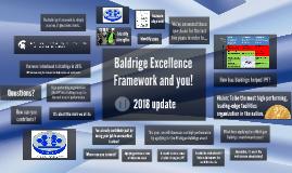 Baldrige Excellence Framework and you!