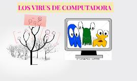 LOS VIRUS DE COMPUTADORA
