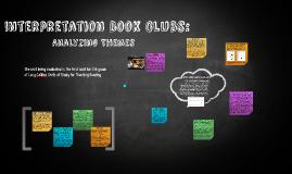 Interpretation bOOK clUBS