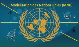 Modélisation des Nations unies (MNU)