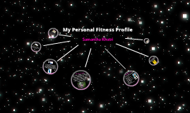 My Personal Fitness Profile - Online P.E.
