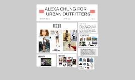 Copy of ALEXA CHUNG FOR URBAN OUTFITTERS