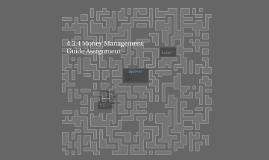 4.3.4 Money Management  Guide Assignment