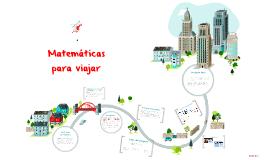 Matemáticas para viajar