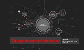 Copy of Cirugía de control de daños