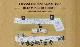 Transcendentalism and Bloomsbury