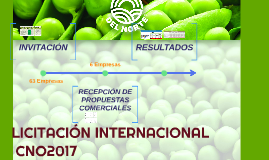 LICITACION INTERNACIONAL CNO2017