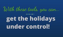 Holidays Under Control