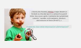 « Mordu de chocolat, Antoine craque devant un fondant au ch