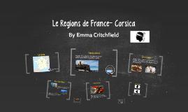 Le Regions de France- Corsica