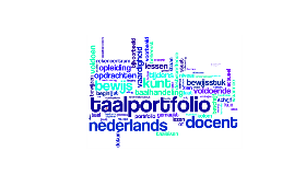 Wat is een taalportfolio?