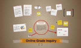 Online Grade Inquiry