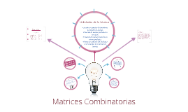 Copy of Matrices Combinatorias