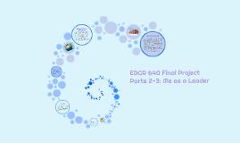 EDGR 640 Final Project Parts 2-3