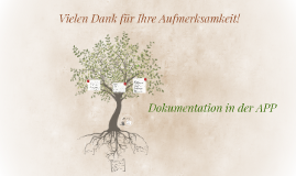 Dokumentation in der APP